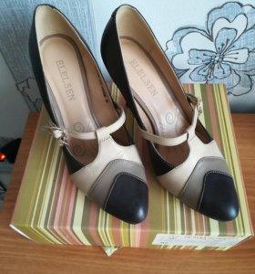 Туфли женские, кожа, 36 размер