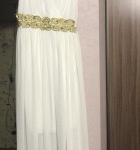 Платье в пол 46размер