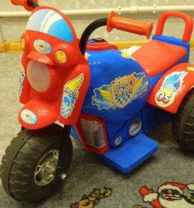 Мотоцикл детский. Новый