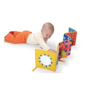 книжка-бортик в кроватку taf toys