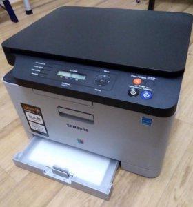 Лазерный МФУ SAMSUNG CLX-3305