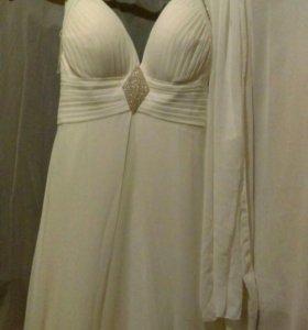 Вечернее- свадебное платье