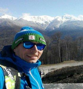 Инструктор по горным лыжам и сноуборду,фрирайд гид