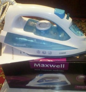 Утюг Maxwell MW-3055B,Steam iron,б/у