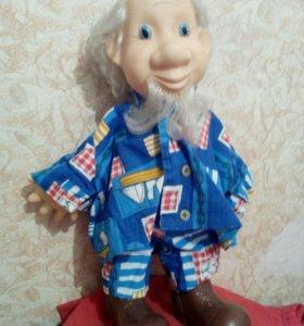 Кукла дед моряк СССР 40 см