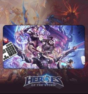 Коврик Heroes of the storm Blizzard 300х600х2мм