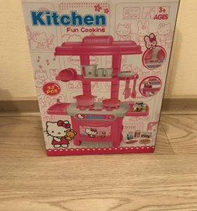 Кухня для кукол Hello Kitty