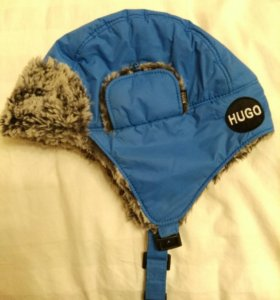 Шапка-ушанка Hugo Boss, зимняя, детская