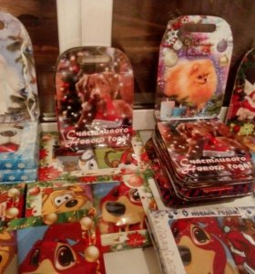 Полотенца и доски в подарок