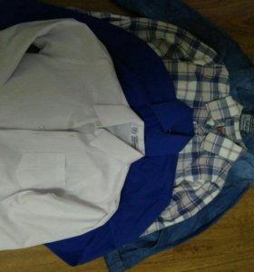 Комплект из 4 рубашек р.104-110