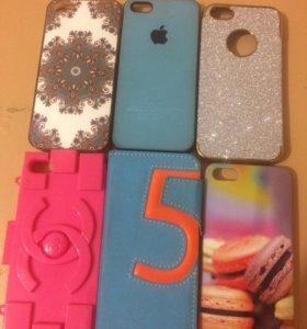 Чехлы на iPhone 5,5s!