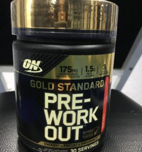 ON Pre-Workout Gold Standard (300g)
