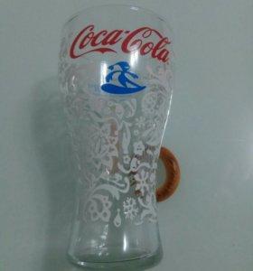 Стакан Coca-Cola. Олимпийские игры Сочи.