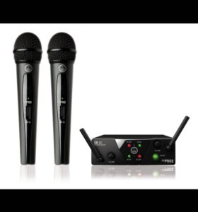 AKG WMS 40 Mini Dual Vocal Set ISM 2/3