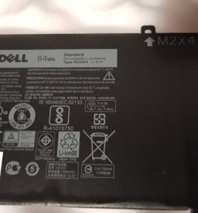 Батарея Dell xps 15 84wh