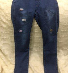 Штаны женские джинсы спорт размер 32
