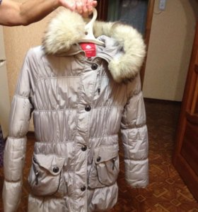 Пальто дет.зимнее