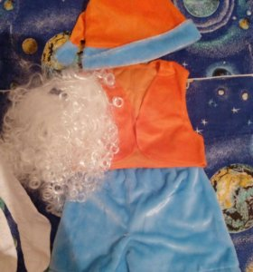 Новогодний костюм гномик