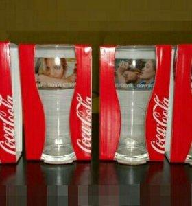 Стаканы кока-кола