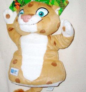 Леопард Сочи 2014 кукла-рукавица 25 см