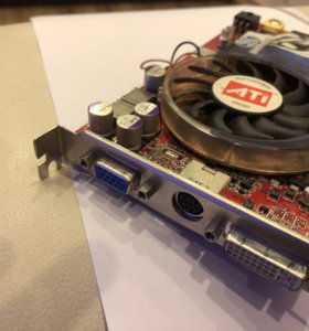 Видеокарта ATI radeon x800
