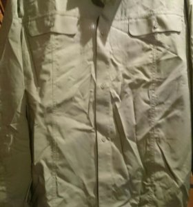 Рубашка оливковая