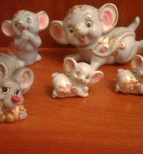 Коллекция мышек