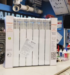 Радиатор биметаллический на 6 секций 500мм