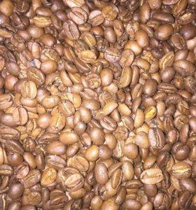 Кофе зерновой и молотый.