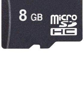 Micro sd 8gb плеер