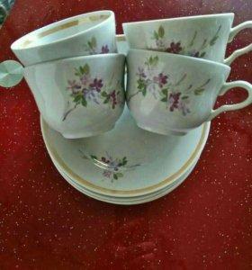 Чайный набор на 4 персоны, Россия