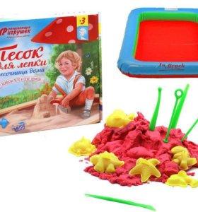 Песок кинетический для лепки 3 кг