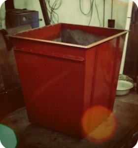 Бак мусорный(контейнер тбо)с доставкой на дом.