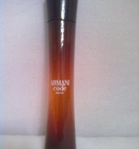 GIORGIO ARMANI Armani Code Femme Satin 75мл.