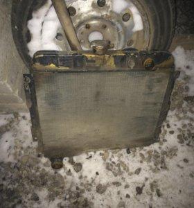Радиатор газ 3102,3110 Волга под змз 402