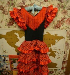 Новогодний костюм Кармен для девочки 6-10 лет