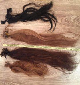Волосы для наращивания бу