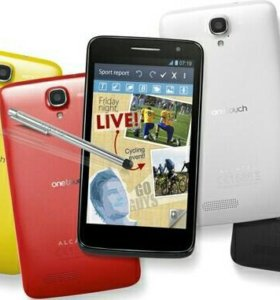 alcatel one touch scribe hd (белый)