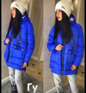 Куртка зима новая+подарок