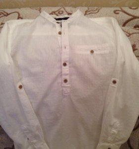 Рубашка подростковая стильная размер S