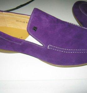 Мужские замшевые туфли Boticheli
