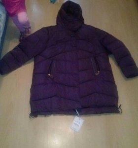 Новая зимняя куртка 66-68