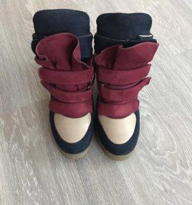 """Ботинки """"Сникерсы"""""""