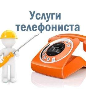 Монтаж и обслуживание телефонных сетей, мини атс