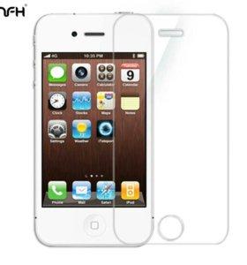 Защитное стекло на айфон 4s,4