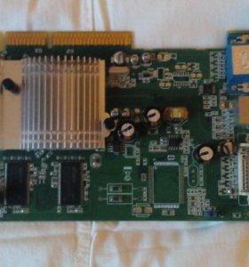 Видеокарта ATI Radeon 9600 под AGP