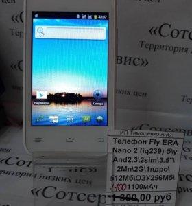 Телефон Fly Era Nano 2 (iq239)