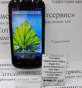 Телефон Highscreen Alpha