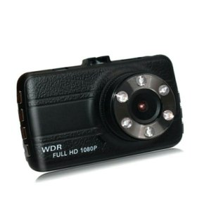 Видеорегистратор двойная камера + ночное видео