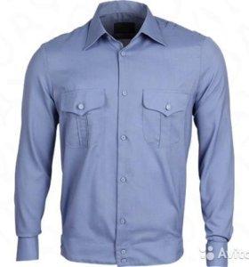 Рубашка мужская форменная с длинным рукавом